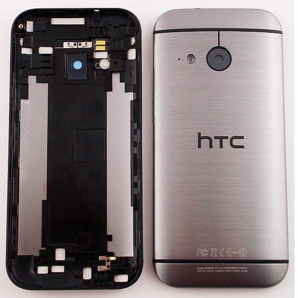 Tapa Trasera de Bateria Original para HTC One M8 Mini 2 - Gris