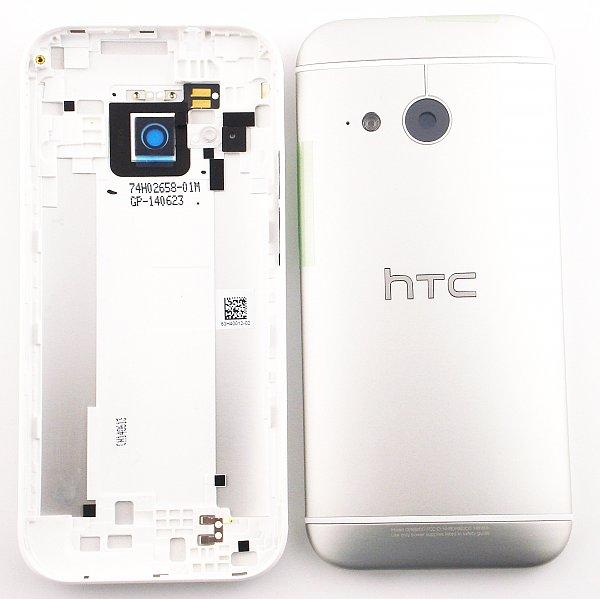 Tapa Trasera de Bateria Original para HTC One M8 Mini 2 - Plata