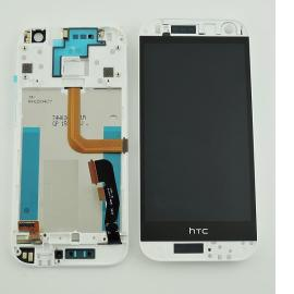 Pantalla Tactil + LCD Display con Marco Original para HTC One M8 Mini 2 (M8MINn) - Plata