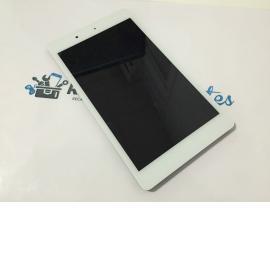 Pantalla LCD Display + Tactil con Marco para BQ Edison 3 Mini - Blanca / Recuperada