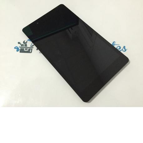 Pantalla LCD Display + Tactil con Marco para BQ Edison 3 Mini - Negra / Recuperada