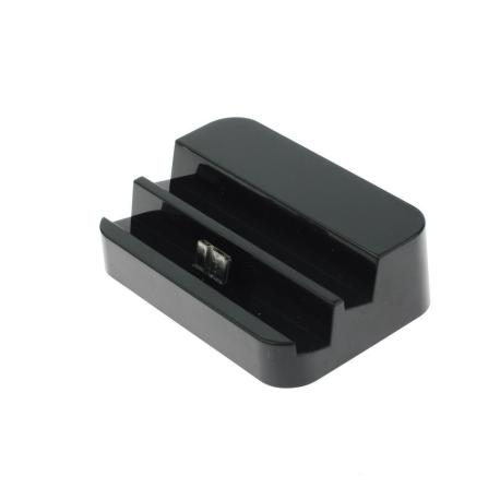 Base Dock Micro USB para Samsung Note 3 / S5 - Negro