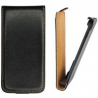 Funda Cuero Negra Samsung Galaxy s2 i9100