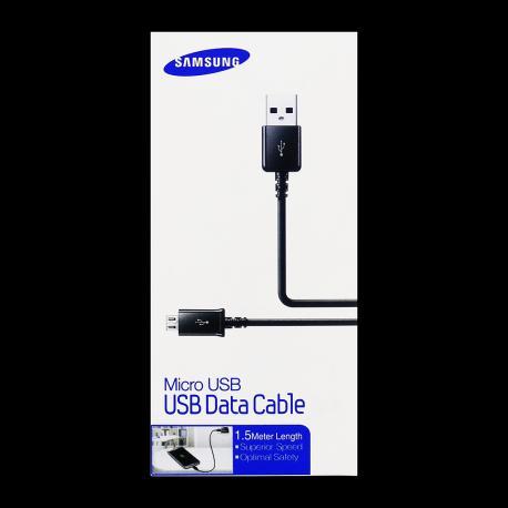 Cable de Red Original Micro USB ECB-DU4EBE Samsung - En Blister / Negro