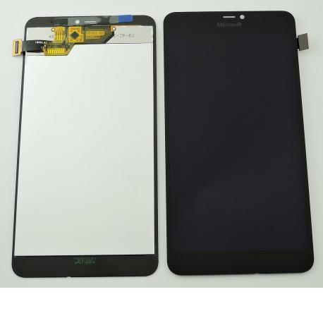 Pantalla Tactil + LCD Display Original para Microsoft Lumia 640XL - Negra
