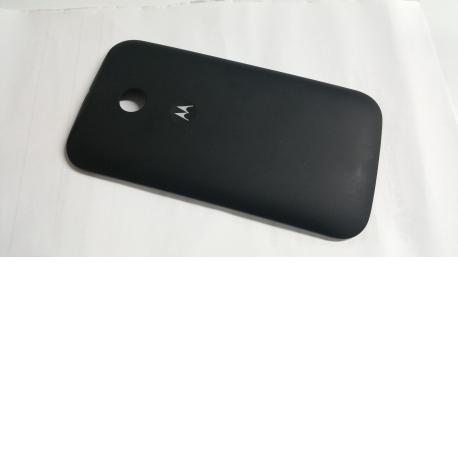 Carcasa Trasera de la Bateria para Motorola E Negra - Recuperada