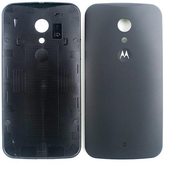 Carcasa Tapa Trasera Motorola Moto G2 Xt1603 Xt1068 Negra - Recuperada