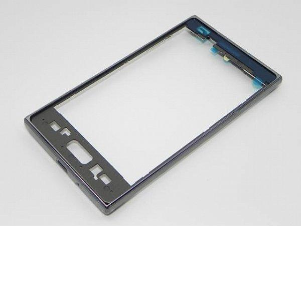 Carcasa Marco Frontal Original para LG Optimus L5 E610 - Negro