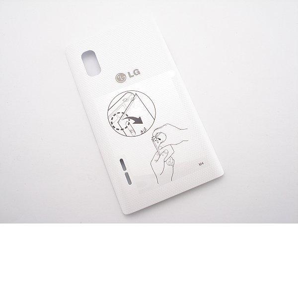 Tapa Trasera de Bateria Original para LG Optimus L5 E610 - Blanca