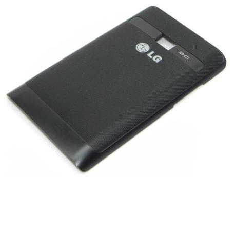 Tapa Trasera de Bateria Original para LG OPTIMUS L3 E400 - Negra