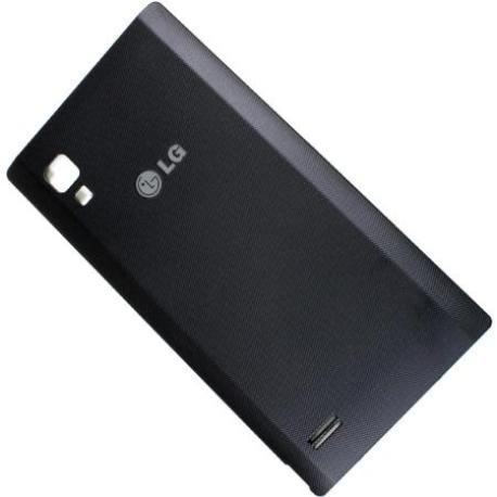 Tapa Trasera de Bateria Original para LG OPTIMUS L9 P760 - Negra