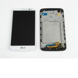 Pantalla LCD + Táctil Con Marco Original LG G2 MINI D620 - Blanco