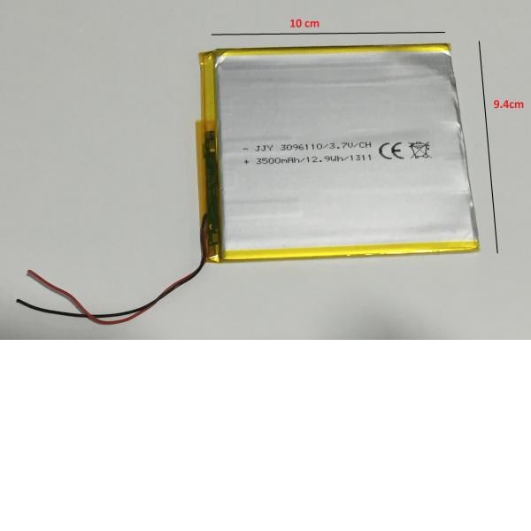 Bateria Universal para Tablet de 10 cm x 9.4 cm - Recuperada / Modelo B
