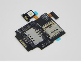 Flex Lector de Tarjeta SIM y SD Original para LG P920 Optimus 3D