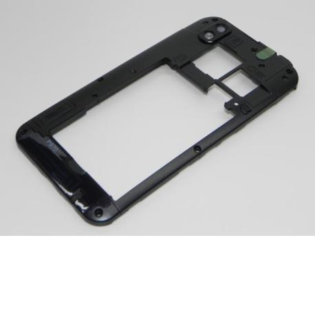 Carcasa Intermedia con Lente Original para LG P970 - Negro