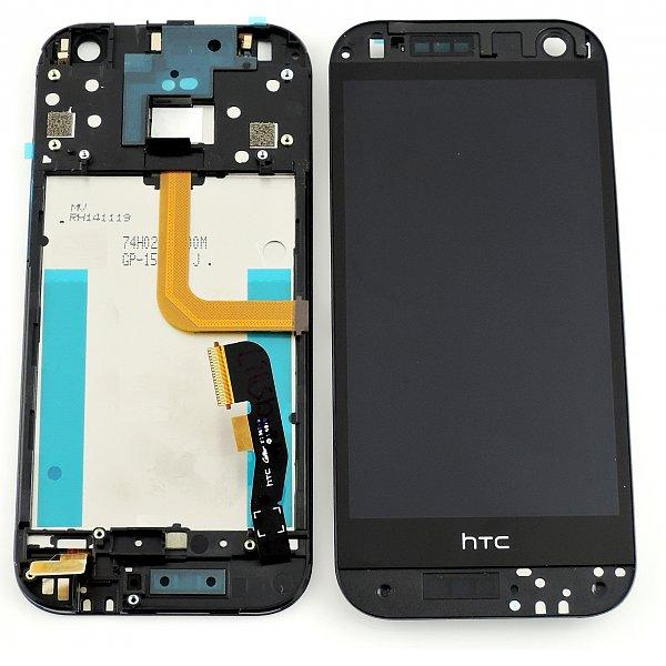 Pantalla Tactil + LCD Display con Marco Original para HTC One M8 Mini 2 (M8MINn) - Negra