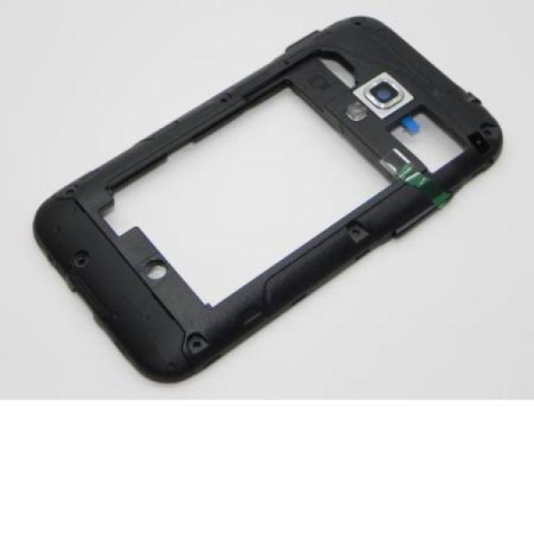 Carcasa Intermedia Original Samgung galaxy Ace PLUS s7500 Negra