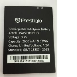Bateria Original para Prestigio Multiphone 7600DUO de 2600mAh