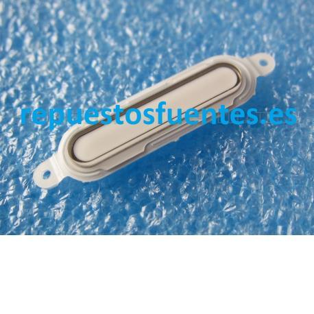 Boton Home para LG P760 Optimus L9 - Blanco