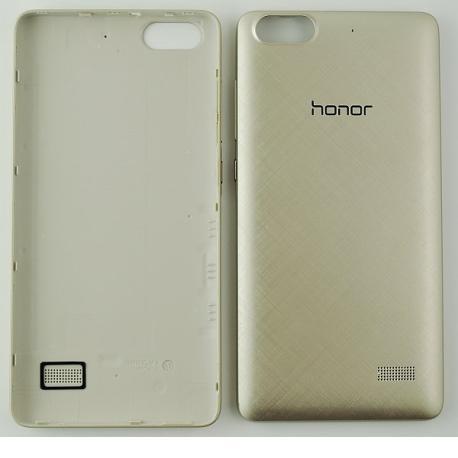 Tapa Trasera de Bateria Original para Huawei Honor 4C - Oro