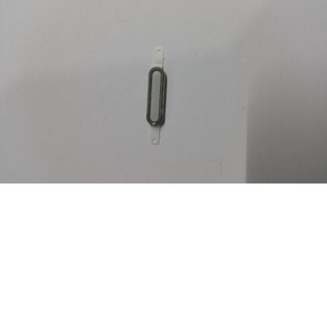 Boton central para LG Optimus L7 II p710 Blanco - Recuperada
