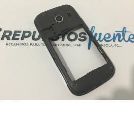 Carcasa Intermedia Original Samsung Galaxy Ace Style SM-G310HN Gris - Recuperada