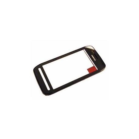 Pantalla tactil cristal digitalizador nokia 603 negro