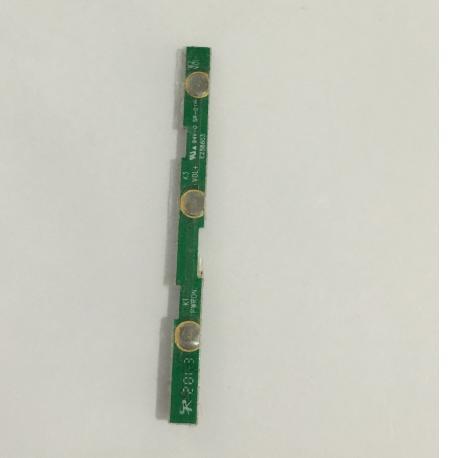 Modulo de Botones de Encendido On / Off y Volumen para Tablet BQ Edison 2 - Recuperado