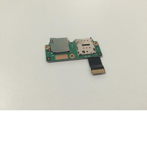 """Modulo con Lector Tarjeta Micro SD y Sim para BQ Edison 3 3G , Fnac 4.0 10"""" 3G"""