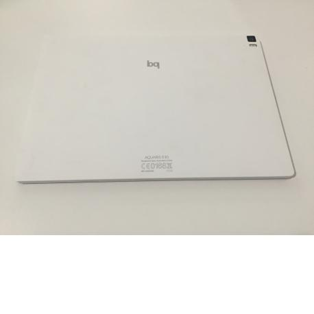 Tapa Trasera Original Tablet Bq Aquaris E10 Blanca - Recuperada