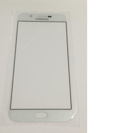 Pantalla de Cristal para Samsung Galaxy A8 A800F - Blanco