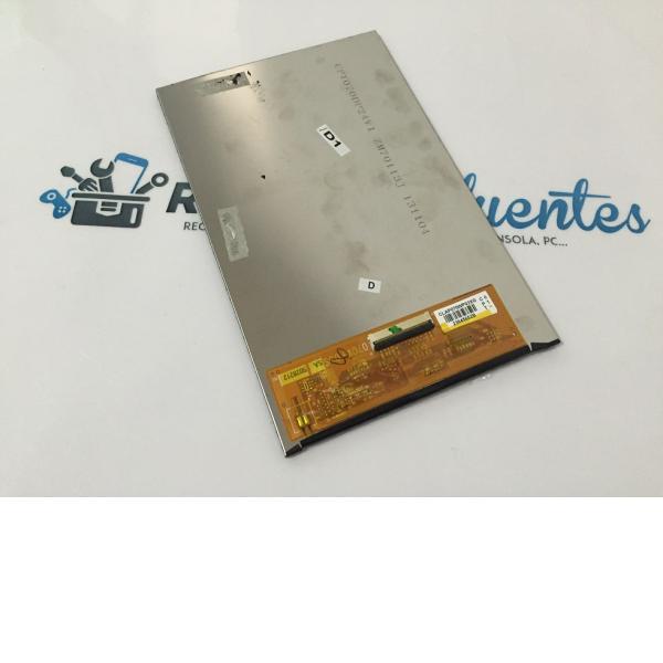"""Pantalla Lcd Display Original BQ El Cano 2 7"""" , FNAC 7 02BQFNA20 Recuperada"""
