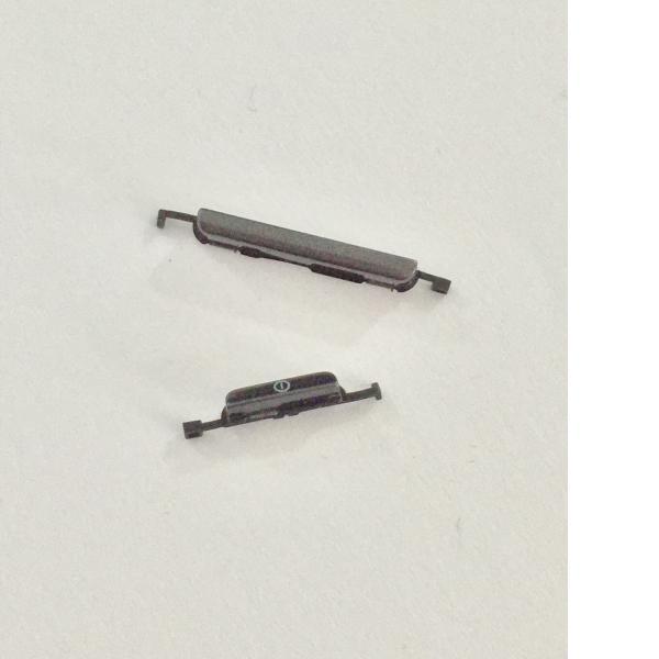 Botón de Encendido y Volumen para Samsung Galaxy Express i8730 - Negro - Recuperado