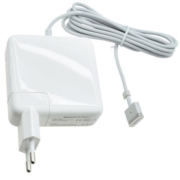 Cargador de Portatil 14.5V 3.05A 45W - APPLE MagSafe 2 - Blanco