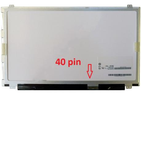 "PANTALLA LED 15.6"" SLIM Brillo B156XW04 con Conector de 40 PINES"