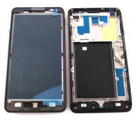 Carcasa Marco Frontal para LG Optimus F6 D505 - Negra
