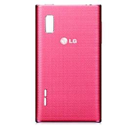 Tapa de Bateria para LG Optimus L5 E610 - Rosa