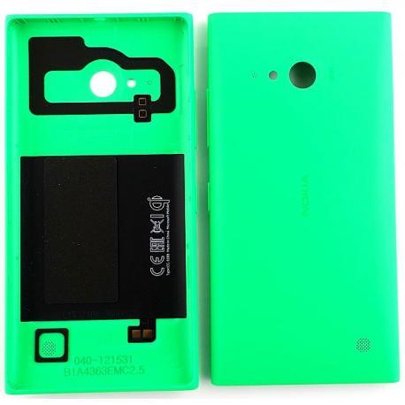 Carcasa Tapa Trasera con NFC + Teclas de Encendido y Volumen para Nokia Lumia 735,730