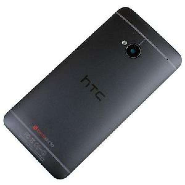 Carcasa Trasera Tapa de Bateria Original HTC One M7 - Negra