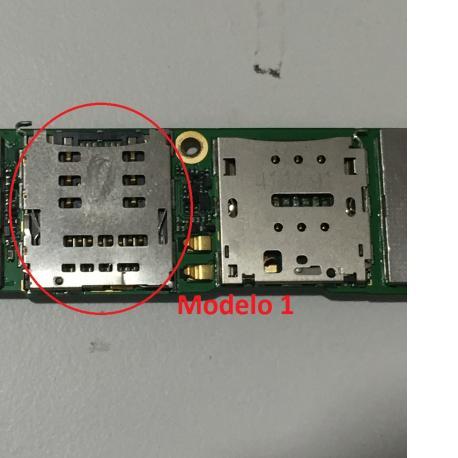 Lector de Tarjeta SIM y SD para Huawei Ascend G7, Huawei GR3 - Modelo 1 (P7)