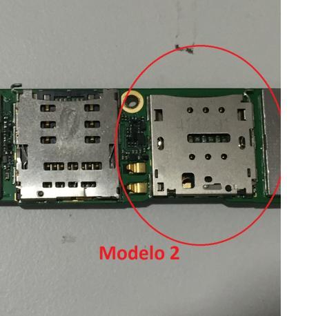 Repuesto Lector de SIM para Huawei Ascend G7 - Modelo 2