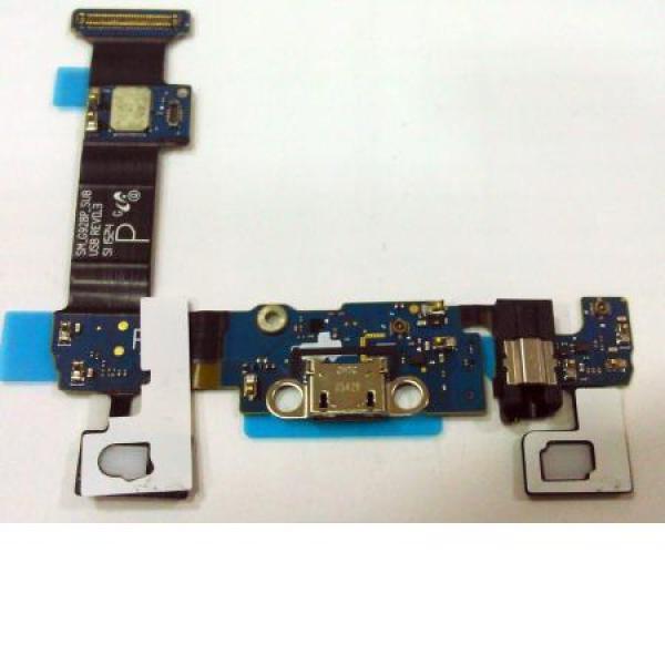 Flex Conector de Carga MIcro Usb y Jack de Audio para Samsung Galaxy S6 Edge+ Plus SM-G928P - Modelo P