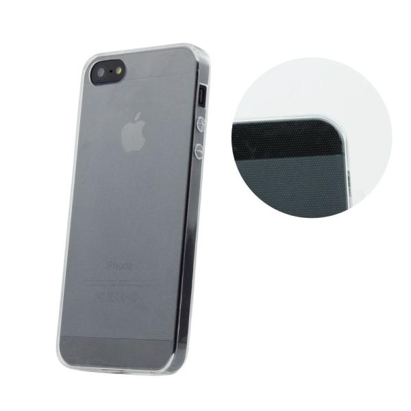 Funda de Gel para iPhone 5, 5s - Trasmparente