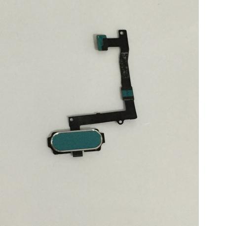 Flex Botom Home para Samsung Galaxy S6 Edge+ Plus SM-G928 - Azul