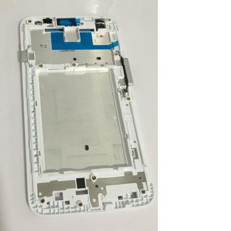Carcasa Marco Frontal para LG Optimus L70 D320 D325 - Blanca