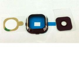 Embellecedor con Lente de Camara para Samsung Galaxy A7 A700F - Negro