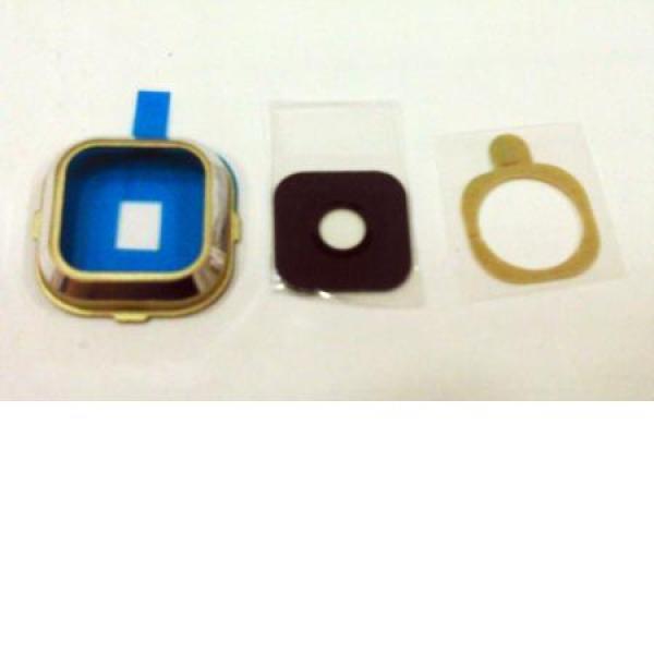 Embellecedor con Lente de Camara para Samsung Galaxy A7 A700F - Oro