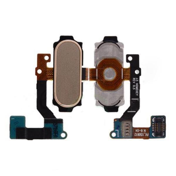 Flex Boton Home para Samsung Galaxy A8 A800F - Oro