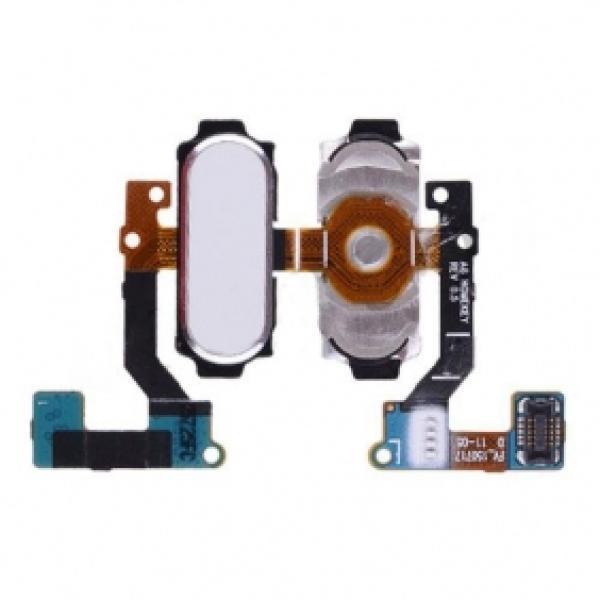 Flex Boton Home para Samsung Galaxy A8 A800F - Blanco