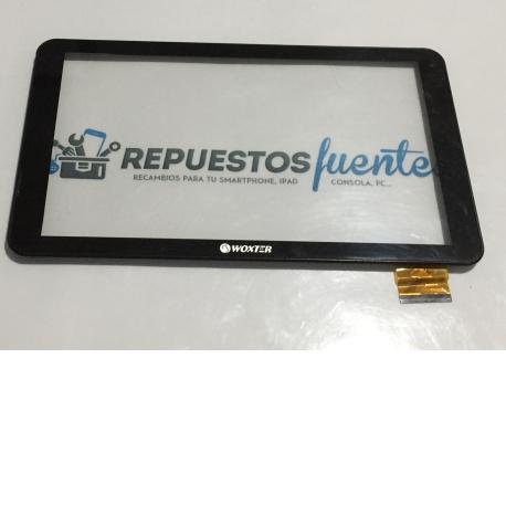 Pantalla Tactil con Marco Original para Tablet Woxter QX 105 - Recuperada / Negra